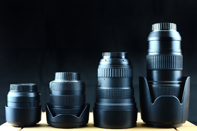 camera-lenses-various